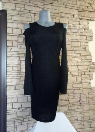 Цена снижена временно!платье-футляр ,миди,из фактурной,жатой ткани