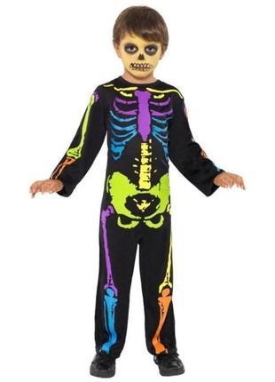 Скелет скелетик 3-4 года костюм