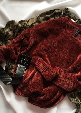 Вельветовий светр  new look l