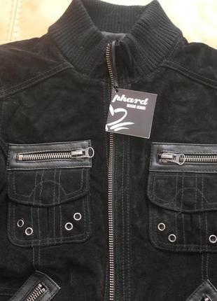 Классная куртка phard замш натуральный