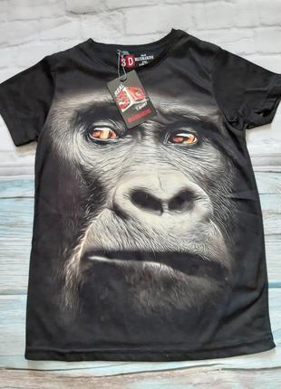 3д футболка на мальчика 6 - 7 лет с рисунуом