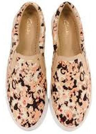 Красивые слипоны, криперы, кеды, туфли clarks