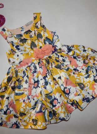 Красивое пышное платье matalan 3 года