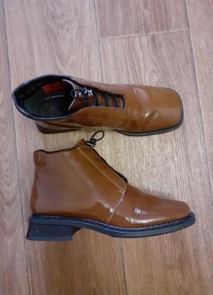 Распродажа обуви - 50%!!! в наличии выбор.кожаные туфли riker.