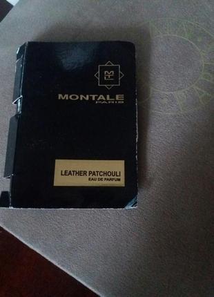 Montale, leather patchouli, парфюмированная вода