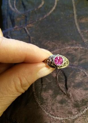 Кольцо серебрянное 17 размер