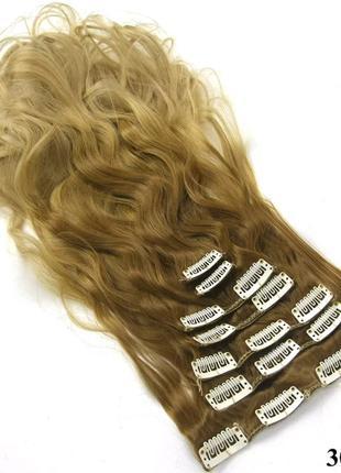 Волосы (трессы) на заколках