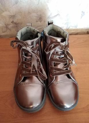 Ботинки демисезон для девочки 36 размер