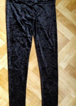 Велюровый лосины, штаны, бредовые h&m