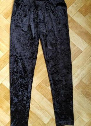 Велюровые лосины, штаны esmara