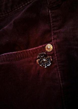 Вельветовый джинсы