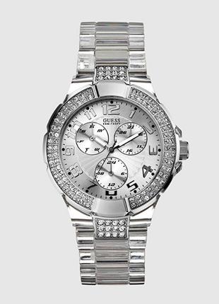 Guess u11656l1 часы из usa пластиковый браслет 4 циферблата wr50m