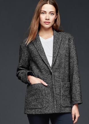 Теплый пиджак gap