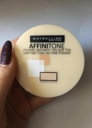 Пудра для обличчя maybelline affinitone