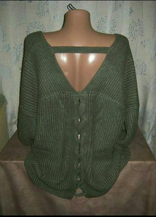 Кофта реглан полувер джемпер свитер женский2 фото