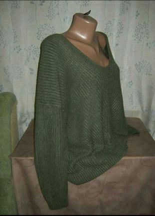 Кофта реглан полувер джемпер свитер женский3 фото