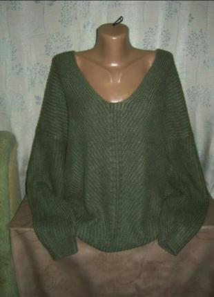 Кофта реглан полувер джемпер свитер женский4 фото