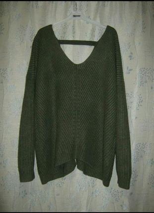 Кофта реглан полувер джемпер свитер женский5 фото