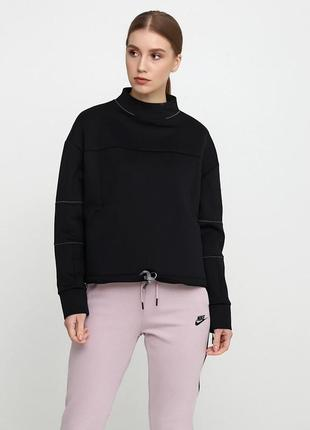 Кофта свитшот свитер худи nike womens dry gym ls crop lead оригинал! - 20%