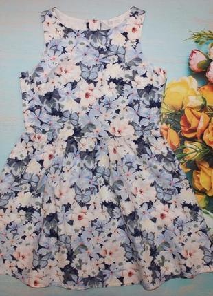 Красивое платье h&m на 8-9л