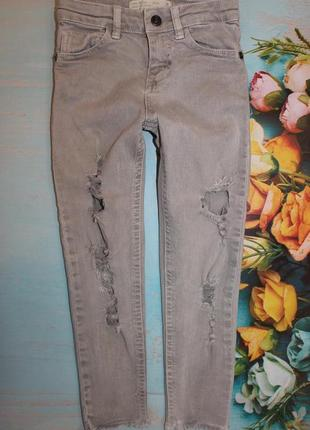 Мега крутые джинсы zara на 5лет