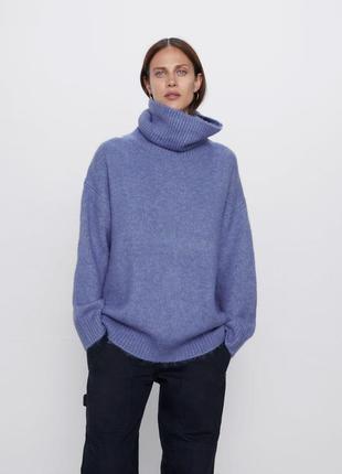 Новый свитер в стиле oversized zara