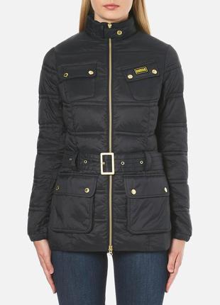 Тёплая куртка под пояс barbour international