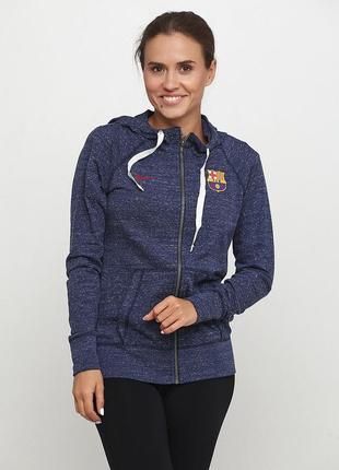 Кофта свитшот худи nike fc barcelona womens sportswear оригинал! - 25%