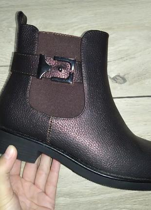 Lux весна женские ботинки деми низкий ход жіночі полуботинки