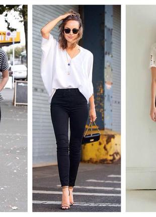 Чёрные джинсы от stradivarius