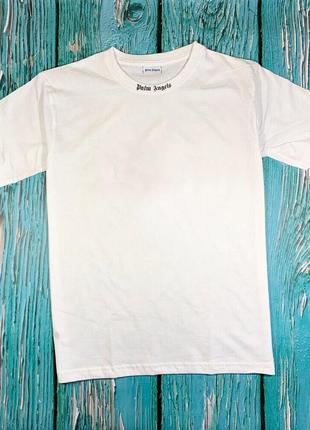 Футболка белая palm angels • футболка палм анджелс • бирки ориг2 фото