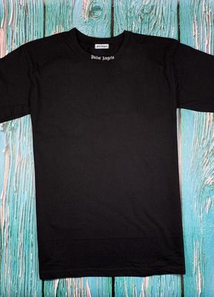 Футболка черная palm angels • футболка палм анджелс • бирки ориг2 фото