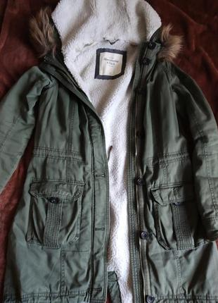 Зимняя куртка парка пальто