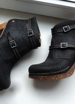 Удобнейшие ботинки art company (испания) р 39