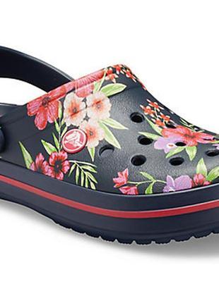 Сабо crocs crocband printed4 фото