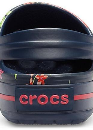 Сабо crocs crocband printed5 фото