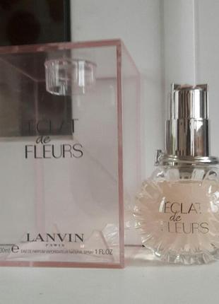 Новый парфюм,духи,туалетная вода lanvin eclat de fleurs оригинал 30 мл