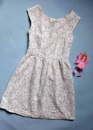 Распродажа кружевное платье с подкладкой xxs-xs