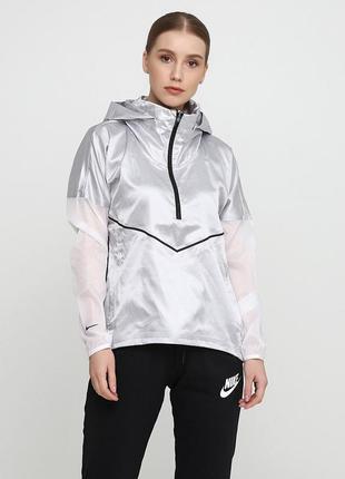 Кофта свитшот худи nike women's hooded running jacket оригинал! - 5%