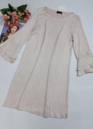 Платье yessica пудренного цвета размер м и l