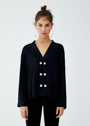 Блуза фирменная pull&bear