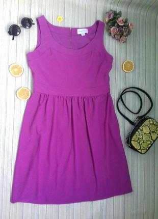 Ronni nicole коктейльное платье розовое/фиолетовое l/xl
