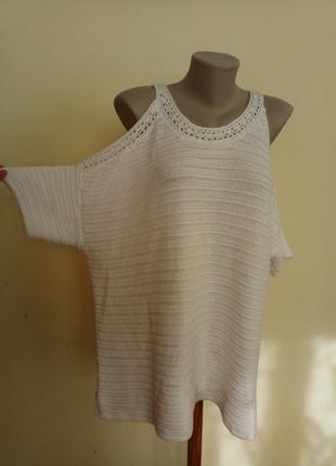 Оригинальная хлопковая блуза