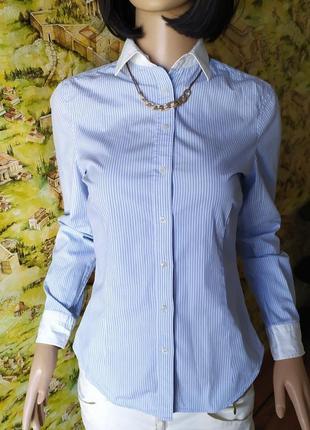 Стильная рубашка в полоску, zara