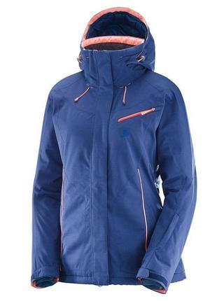 Женская горнолыжная куртка salomon advanced skin dry р. 50-52 (xl)