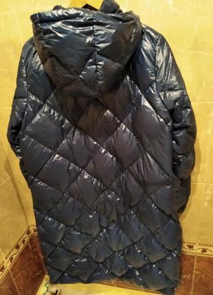 Marks&spenser  зима эксклюзив новый пуховик с капюшоном из британии большого размера 3xl