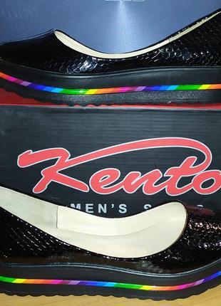 Кожаные балетки kento р39 24,5 см