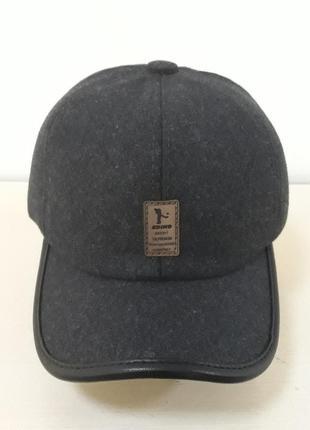 Зимняя мужская кепка с ушами