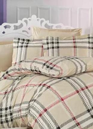 Комплект постельного белья, постельное белье хлопок бязь клетка