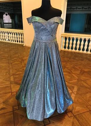 Супер выпускное платье «блеск»